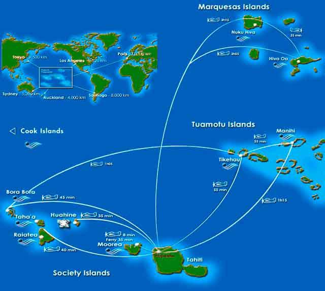 Mil Millas Polinesia Francesa Diseno De Viajes